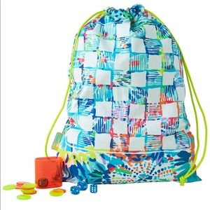 Lilly Pulitzer Game-board Backpack